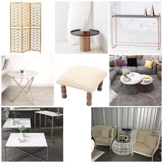 CLEARANCE! - beautiful furnitures and home decor