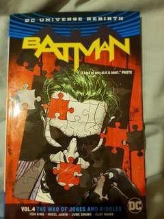 Batman DC Rebirth War Of Joker And Riddler