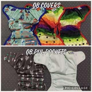 PUL Pocket 2 pcs & PUL Covers 3 pcs (Take All)
