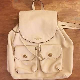 Coach backpack 背包 背囊