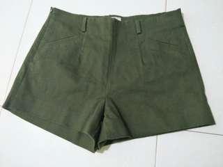 Army Green Shorts