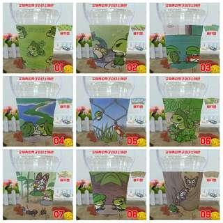 🚚 卡通旅行青蛙環保飲料提袋❤超可愛❤ 代號♡YI00001 售價♡150元 ☆款式♡1~22☆ ❤請備註您要的商品款式編號喲❤