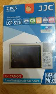 Canon S110  camera screen protector