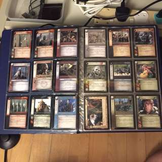 Lord Of The Rings Official Game Card