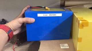 LifePo4 and Lithium-Ion Battery