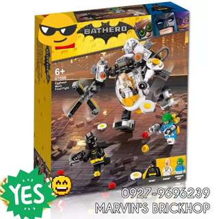 New Arrival Batman: Egghead Mech Food Fight Building Block Toy
