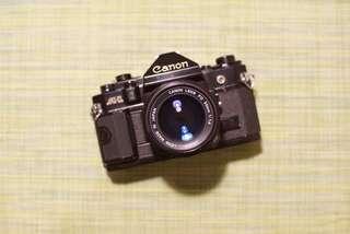 Canon A1 50mm F1.4 Lens Film SLR Camera