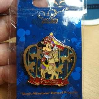 香港迪士尼特別紀念襟章(最新)