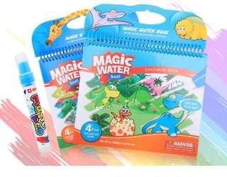Magic Water Coloring Book