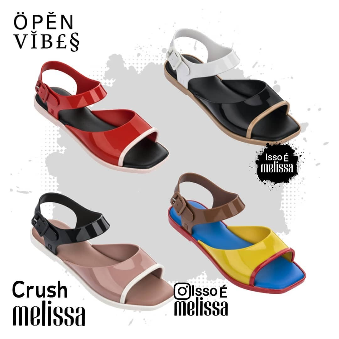 6ff4ed7fe 💟 PO  NEW  Melissa Crush Sandal (FREE NORMAL MAIL!)