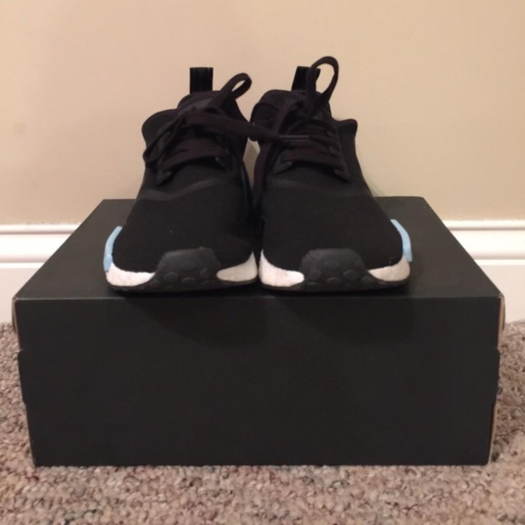 Adidas NMD R1 Icey Blue/Black (Size 7)