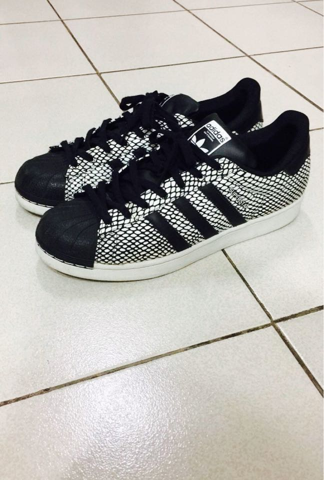 Adidas SZ Superstar Snake Pack (Negro) SZ Adidas 11.5, Hombre Fashion, Foot 31dad7