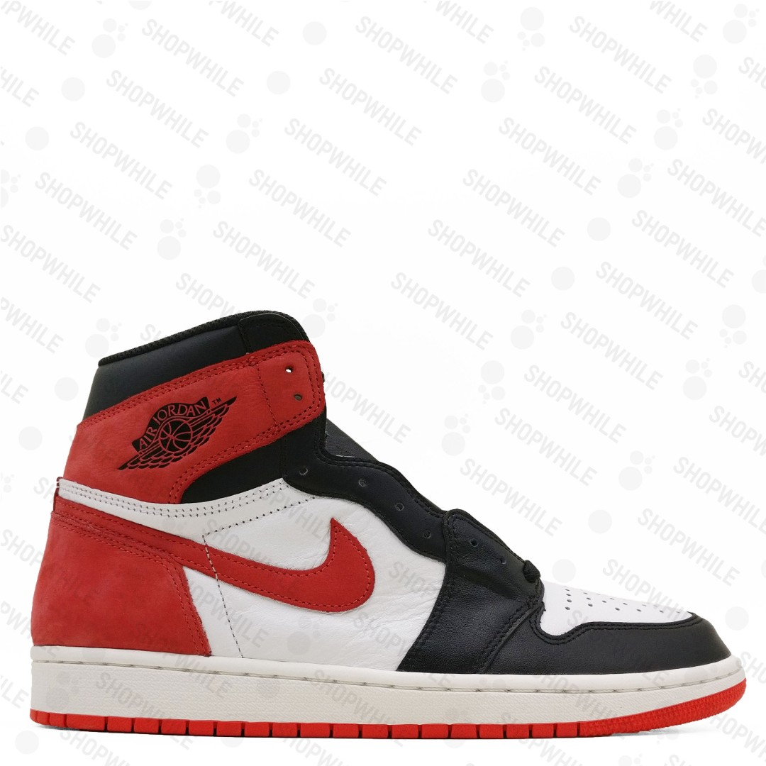 c4d90d8cf83 NIKE Air Jordan 1 Retro High Track Red (555088-112), Men's Fashion ...