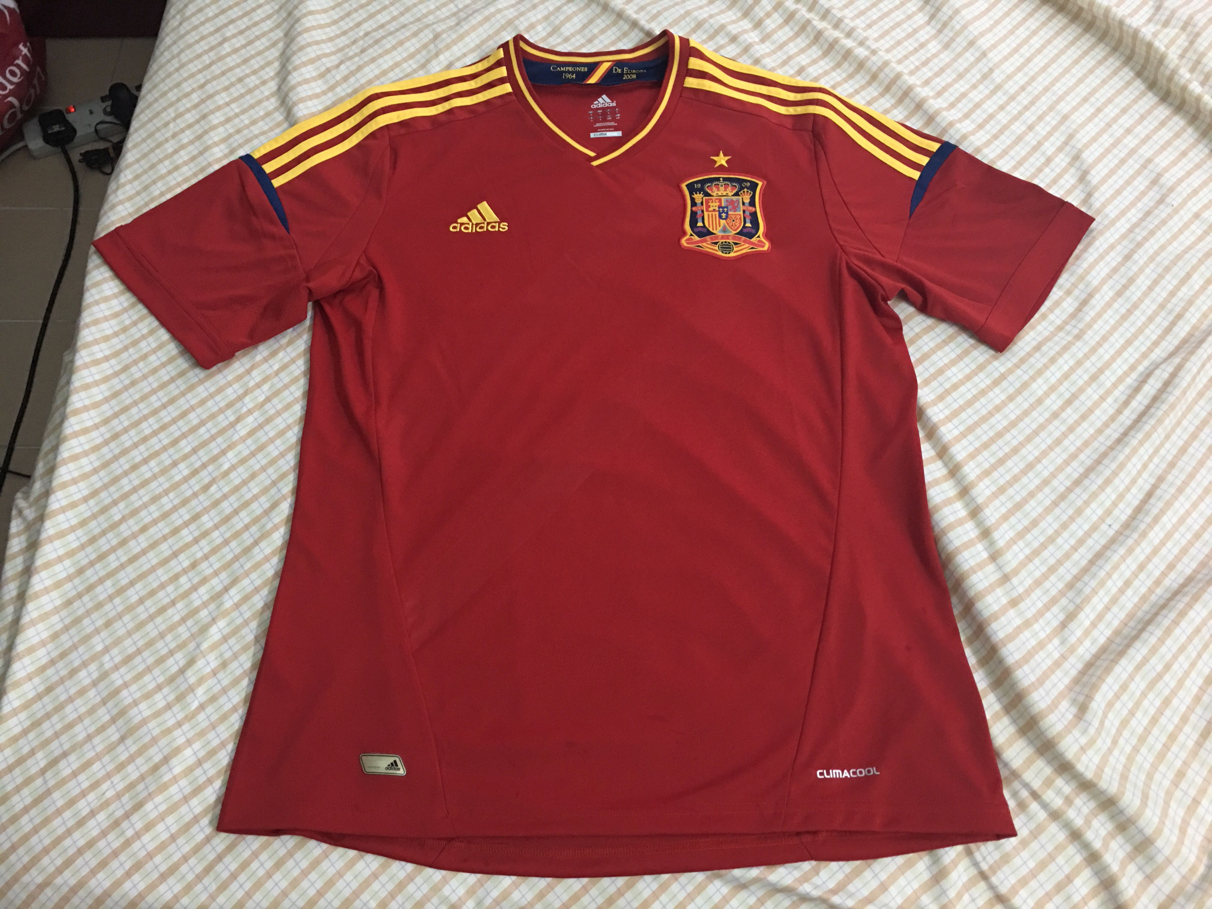 8c52b6ccf7d Authentic Spain 2012 home jersey