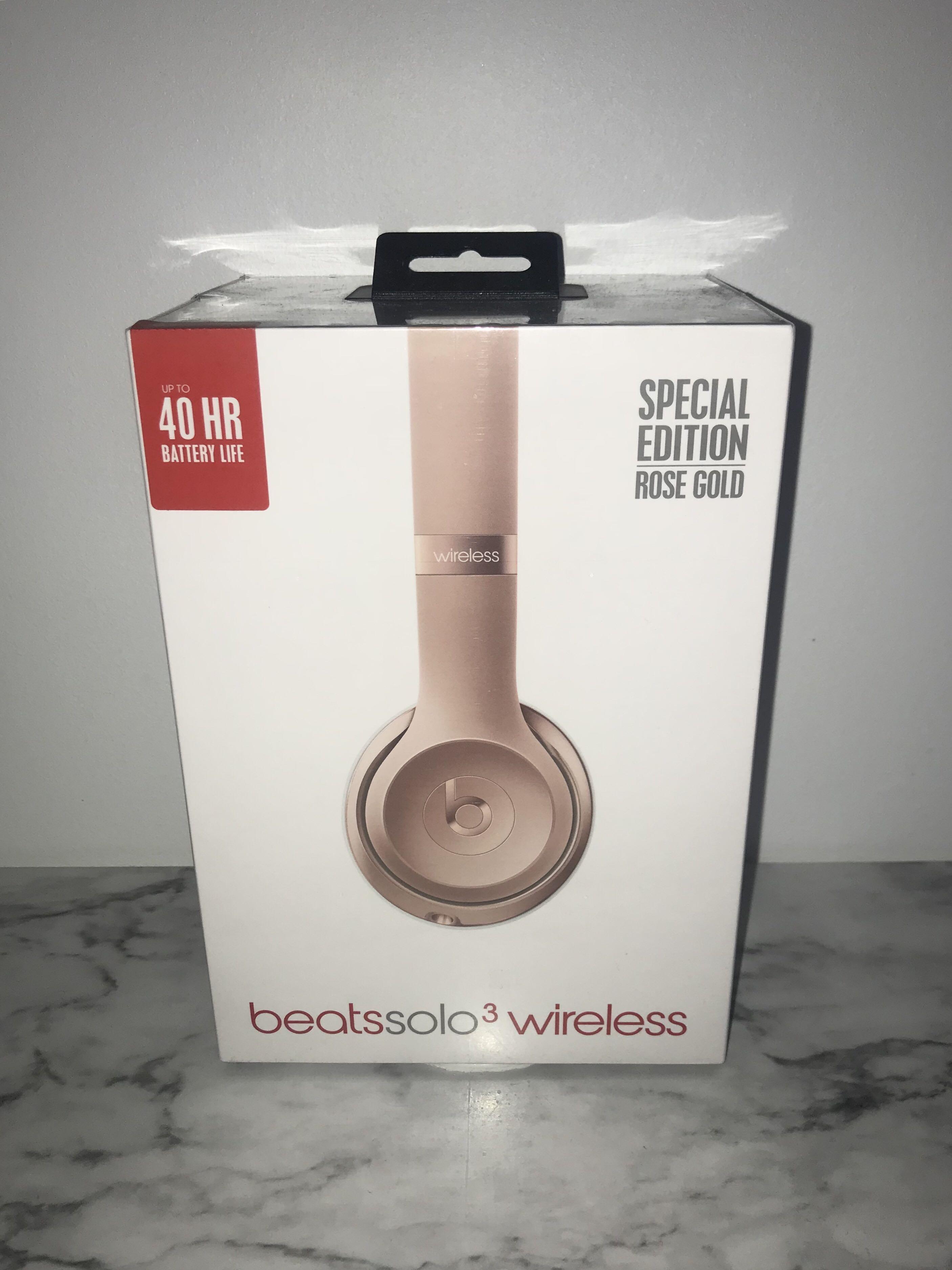Beats Solo 3 Wireless Rose Gold