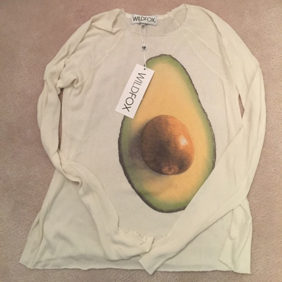 BNWT Wildfox Avocado Sweater (Small)