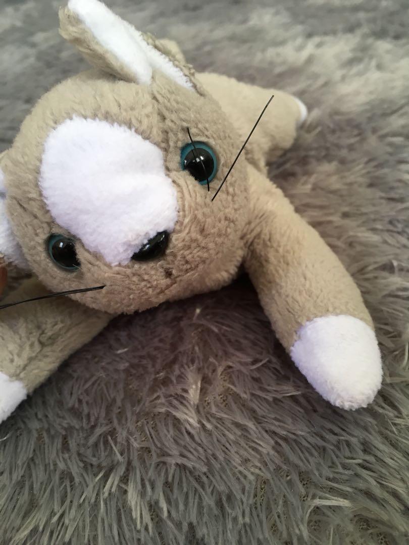 Boneka Kucing Abu2 Bayi Anak Mainan Baby Walker Di Carousell Exclusive Free Sisir