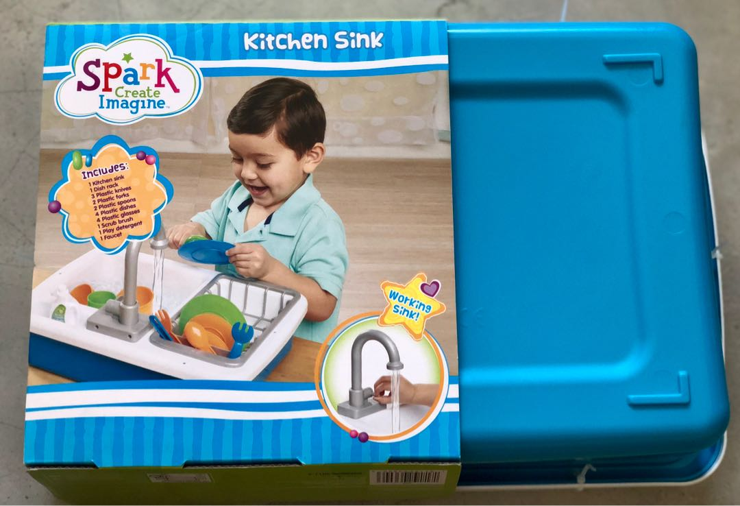 Brand New Spark Create Imagine Kitchen Sink Babies Kids Toys Walkers On Carousell