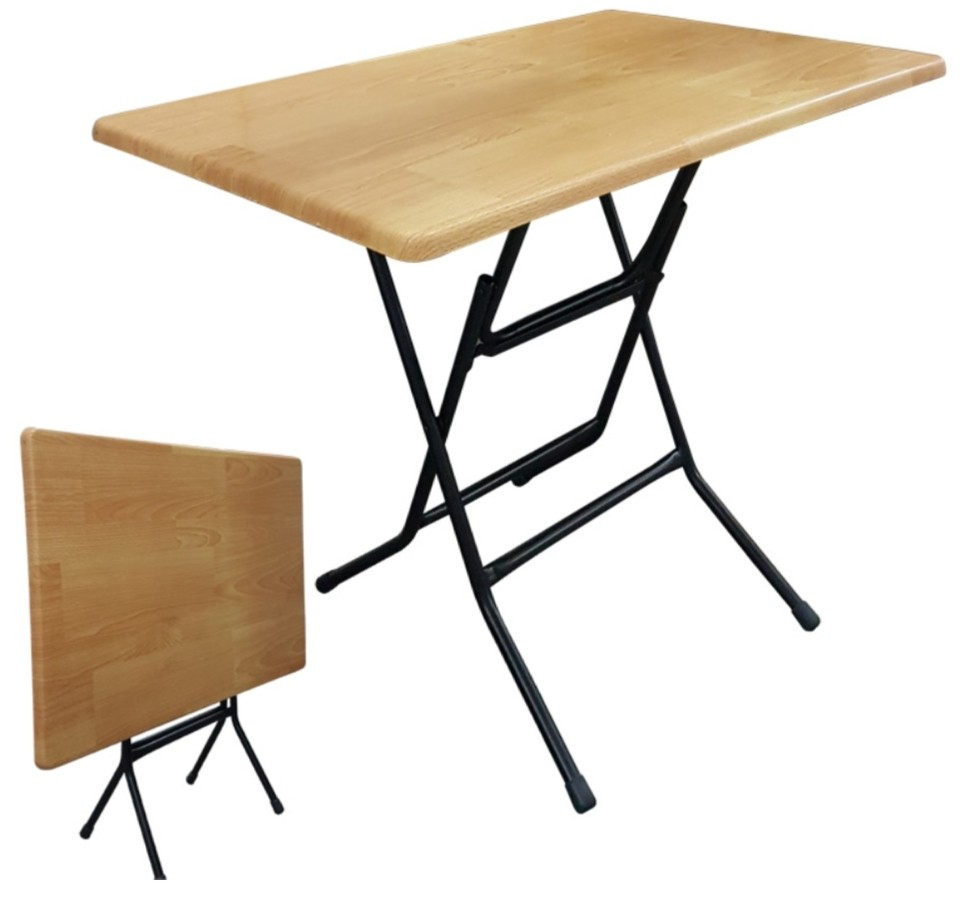 - Budget Wooden Folding Table, Furniture, Tables & Chairs On Carousell