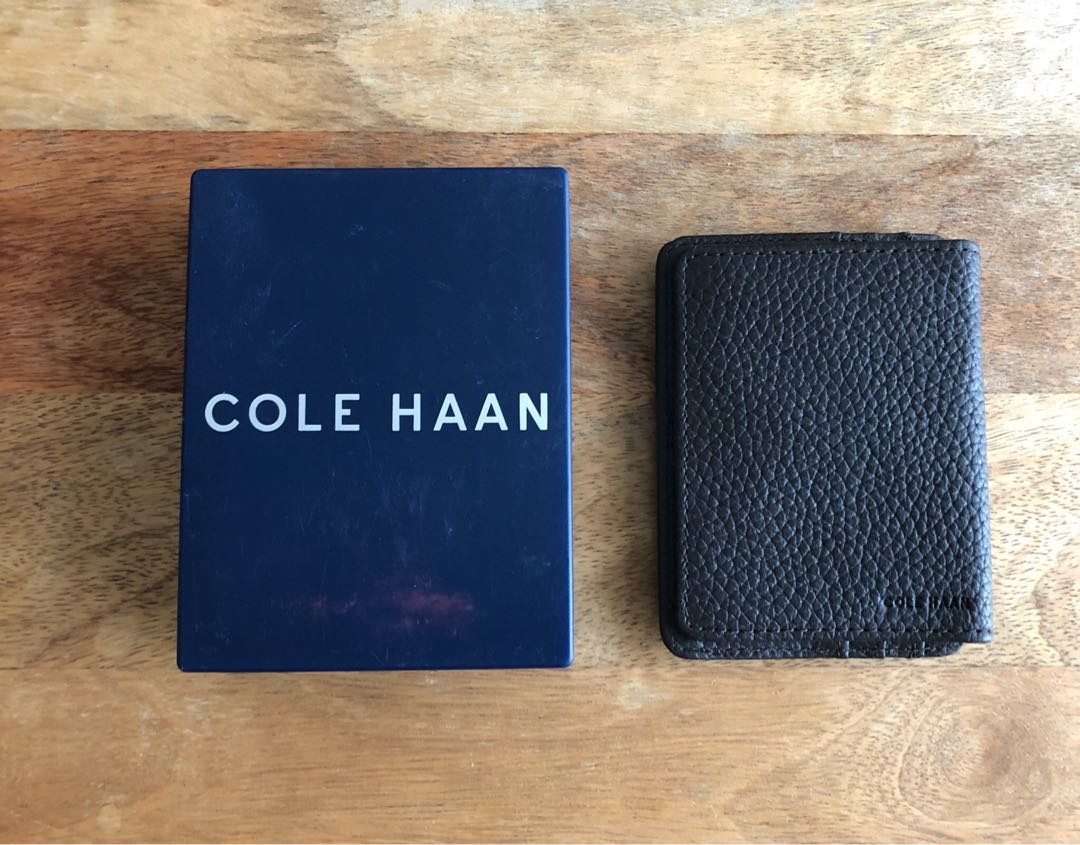 Cole Haan Card Holder with Money Clip, Men\'s Fashion, Bags & Wallets ...
