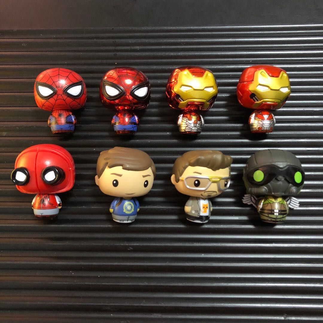 Spider-Man Homecoming Funko Pint Size Heroes Iron-Man