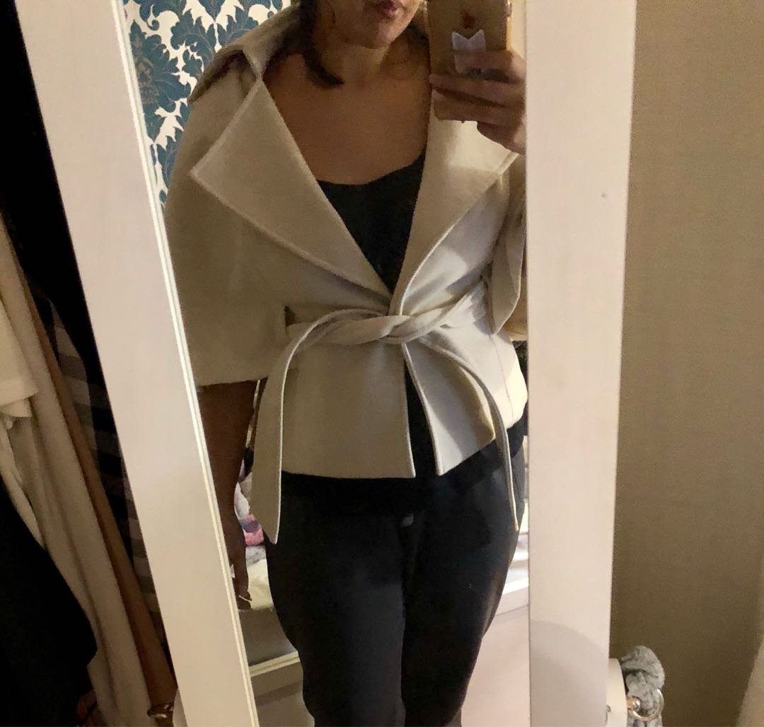 Gossip girl style coat