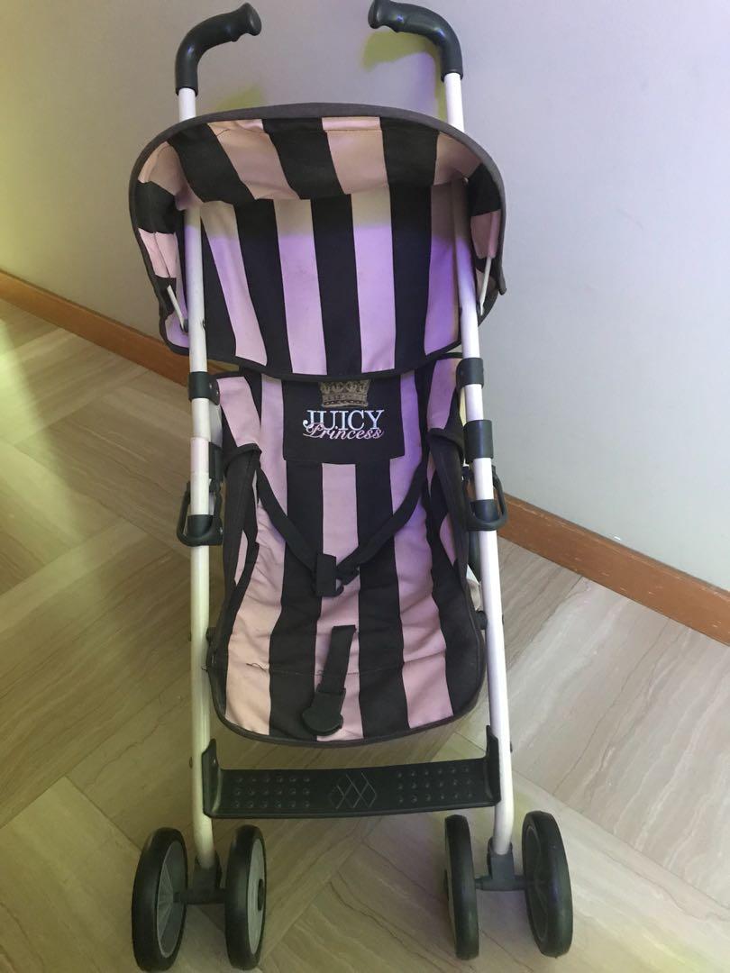 Juicy Couture Maclaren Toy Stroller