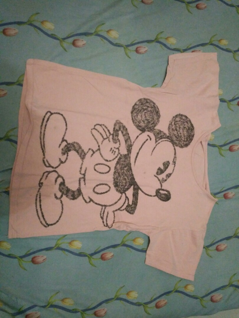 Kaos Pink Mickey Mouse Bayi Anak Baju Perempuan Di Carousell Mikimouse Photo