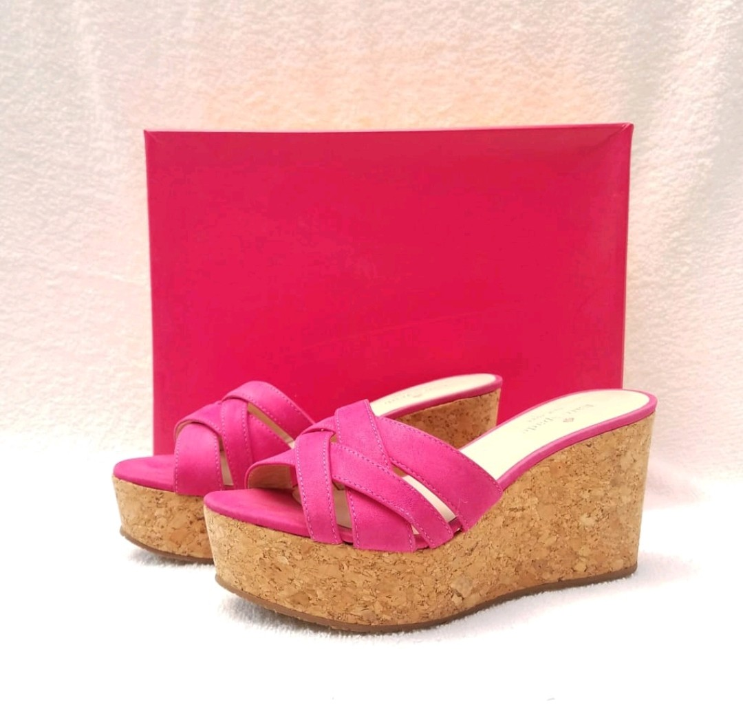 Kate Spade Wedges Pink 23964c911c