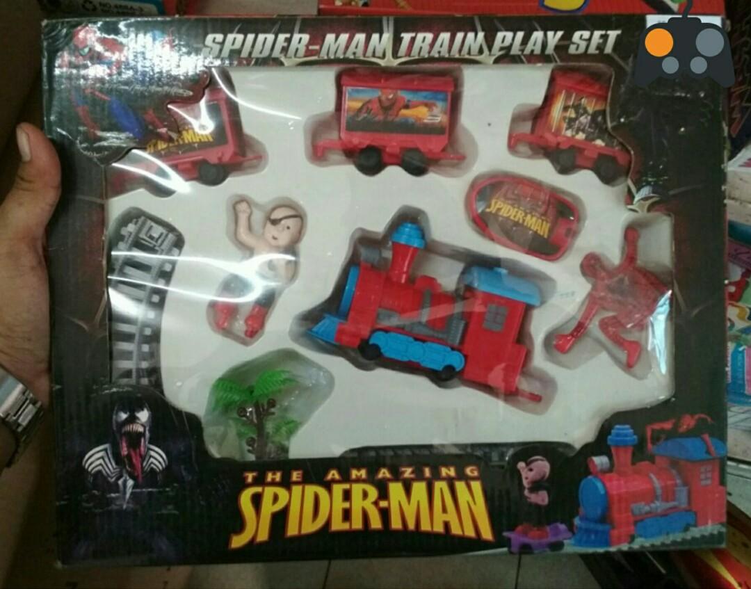 Kereta mainan the amazing spiderman