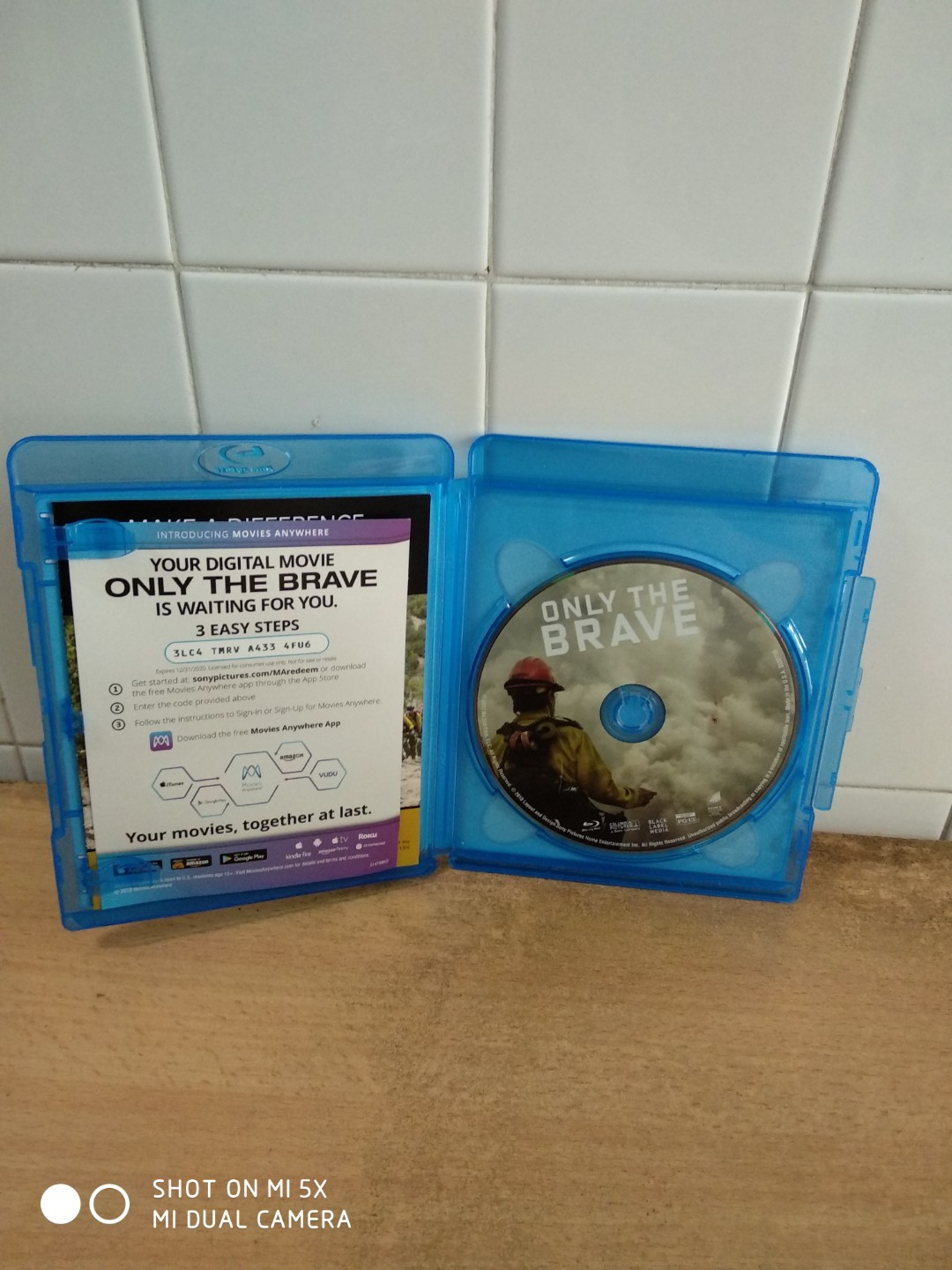 Only the Brave with slipcase - Blu Ray - US import (original)