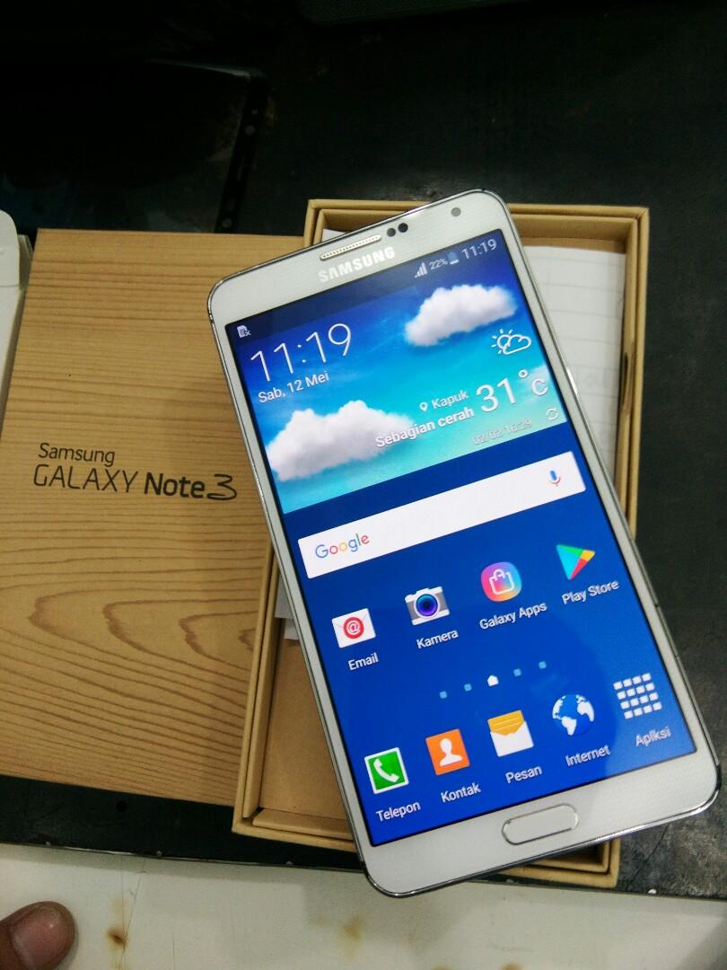 Samsung Note 3 SEIN Ram 3gb 32gb Mulus Dan Fulset Mesin Segel Normal Telepon Seluler Tablet Ponsel Android Di Carousell