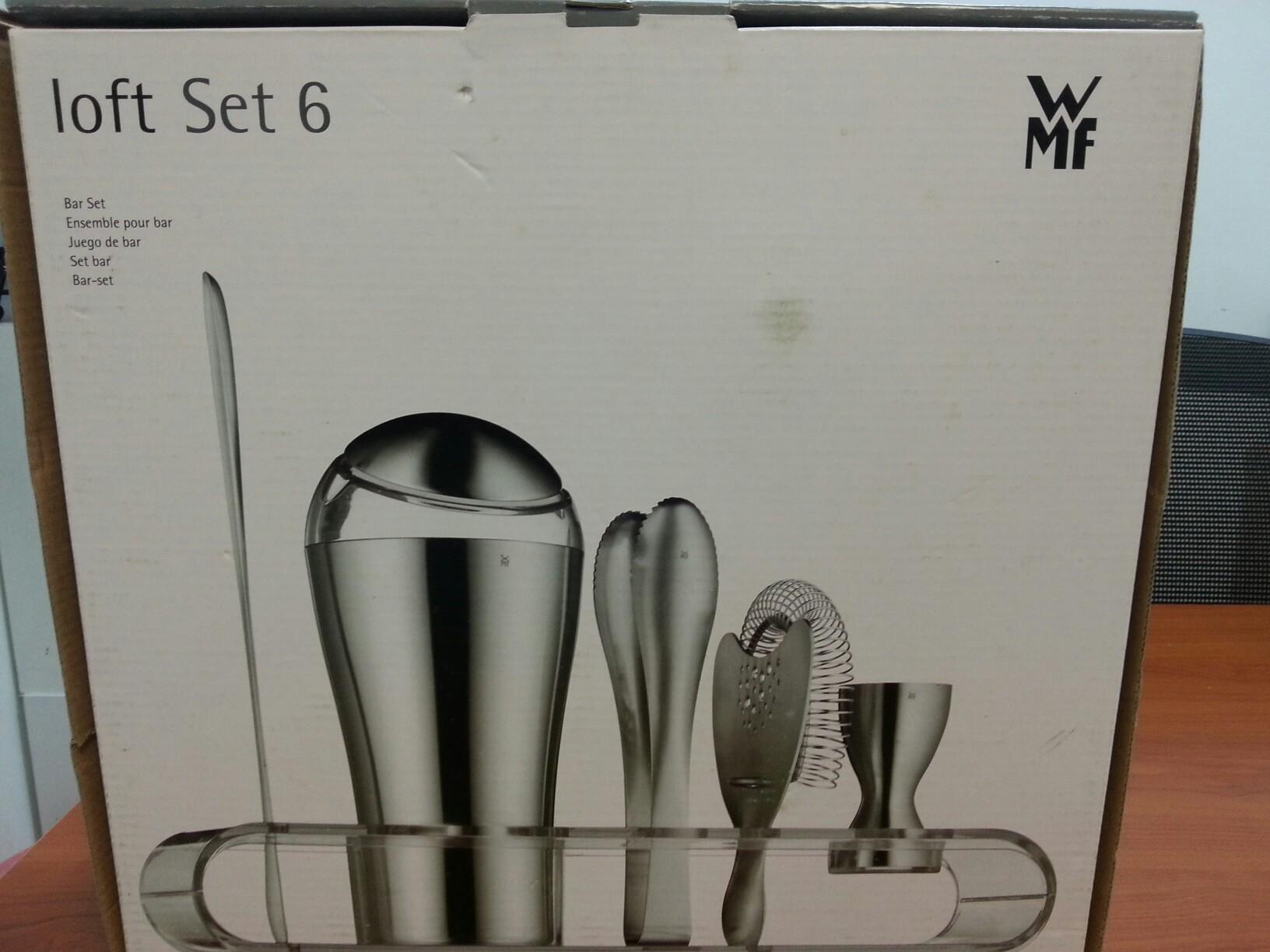 wmf 6 pcs bar set home appliances on carousell. Black Bedroom Furniture Sets. Home Design Ideas