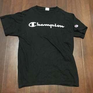 🚚 Champion 黑色 短T 厚磅數