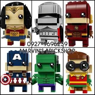 New Arrival BRICHEADZ Super Hero and Star Wars Building Block Toys
