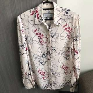 Floral Top - Boutique by Hawes & Curtis, UK/ Size: UK8