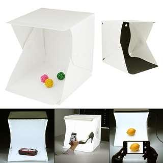 "New 9"" Backdrop Cube Box Mini Photo Studio"