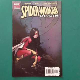 Spider-Woman Origin No.1 comic
