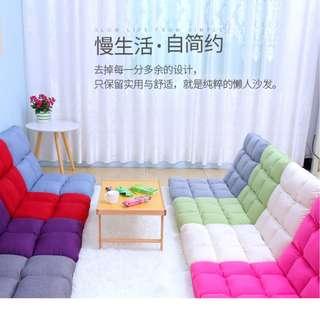 HBL-1108折疊單人靠背18格懶人沙發  18格 HK$228(110*52*13CM)