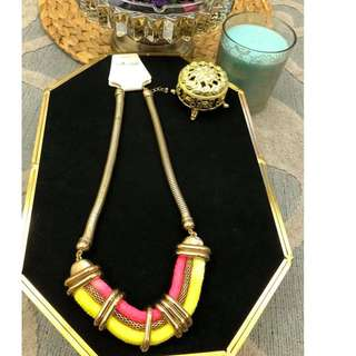BN STATEMENT NECKLACE (SWIPE TO SEE MORE DESIGN)