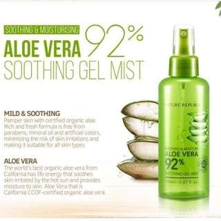 Aloe Vera Nature Republic Gel Mist