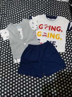 Shirt and short bundle
