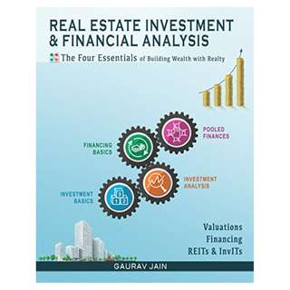Real Estate Investment & Financial Analysis: The Four Essentials of Building Wealth with Realty Kindle Edition by Gaurav Jain  (Author)
