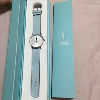 🚚 灰姑娘 腕錶粉藍 #我有手錶要賣#手滑買太多