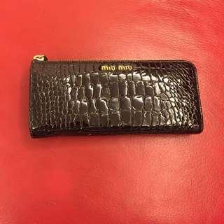 100% real miu miu wallet