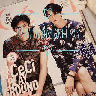 CECI August 2015 (Sehun & Chanyeol cover)