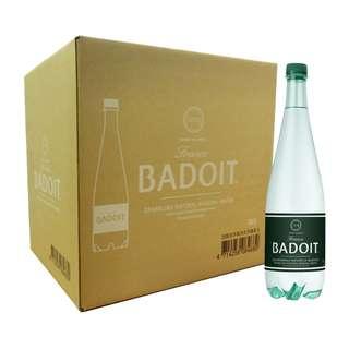 costco線上代購 #109338 BADOIT 波多 氣泡天然礦泉水 1000毫升X12瓶