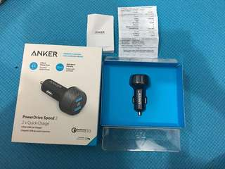 Charger Mobil ANKER
