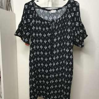 802297e154bd Bohemian Black Dress