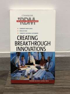 Harvard Business School Press Creating Breakthrough Innovations (Results-Driven Manager, The)